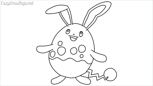 how to draw a azumarill