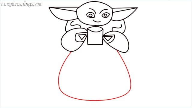 how to draw a baby yoda step (10)