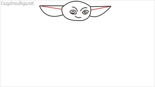 how to draw a baby yoda step (5)