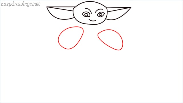 how to draw a baby yoda step (6)