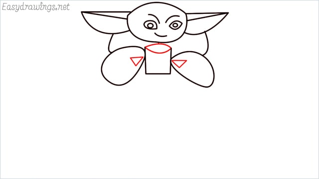how to draw a baby yoda step (8)