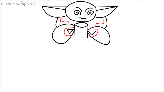 how to draw a baby yoda step (9)