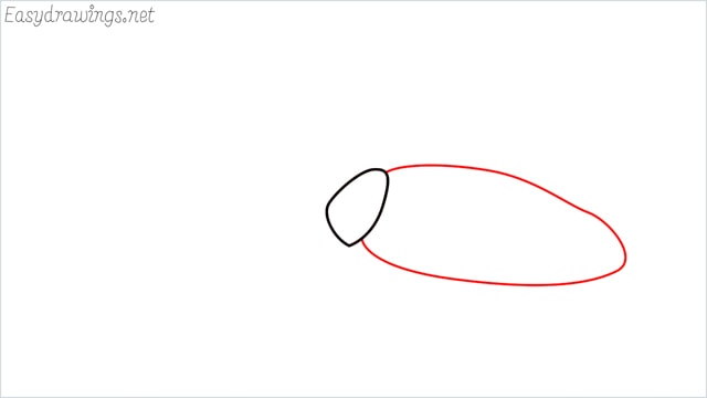 how to draw a cockroach step (2)