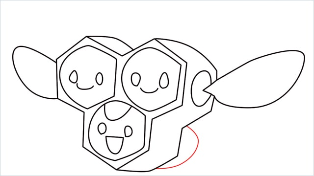how to draw a combee step (10)