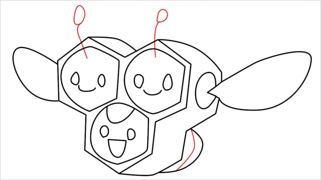 how to draw a combee step (11)