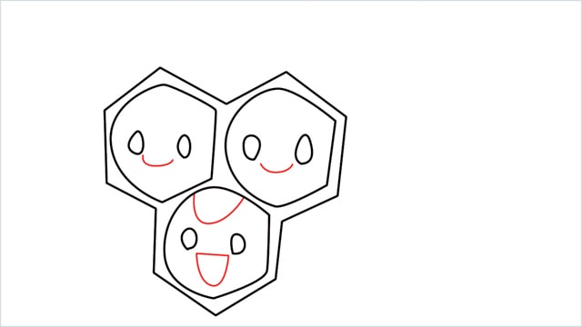 how to draw a combee step (6)