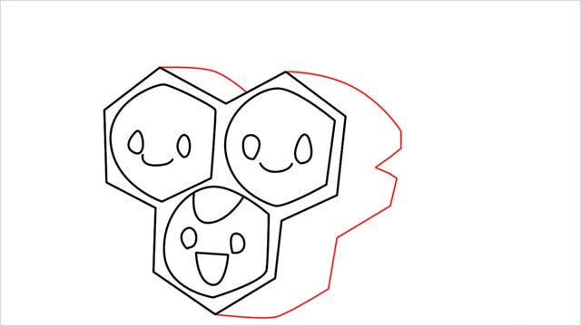 how to draw a combee step (7)