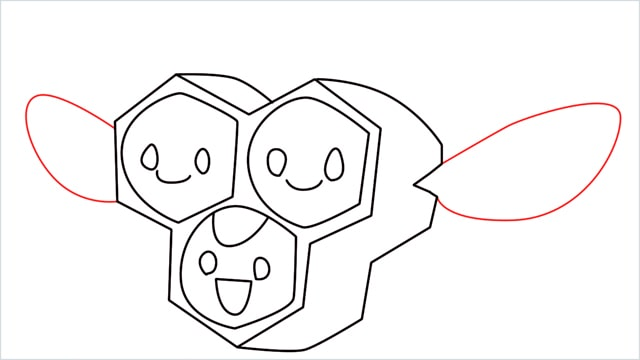 how to draw a combee step (8)