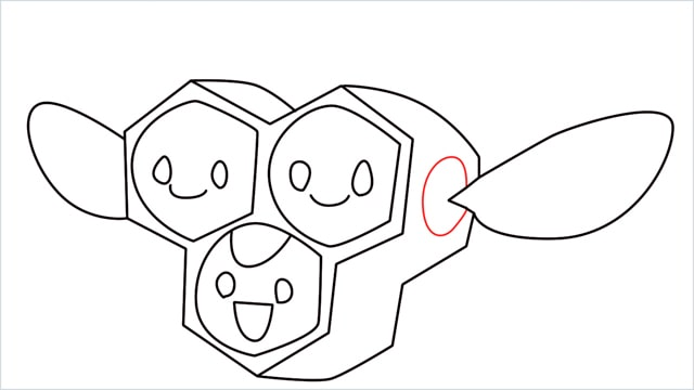 how to draw a combee step (9)