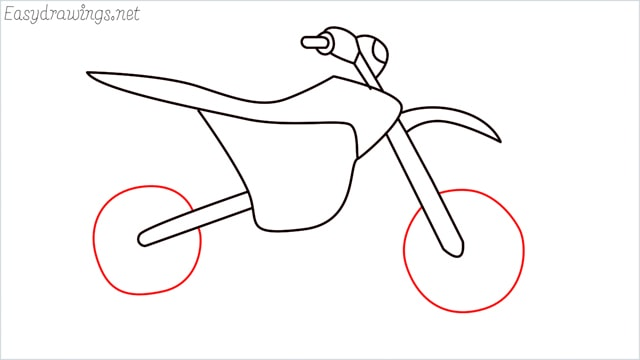 how to draw a dirt bike step (11)
