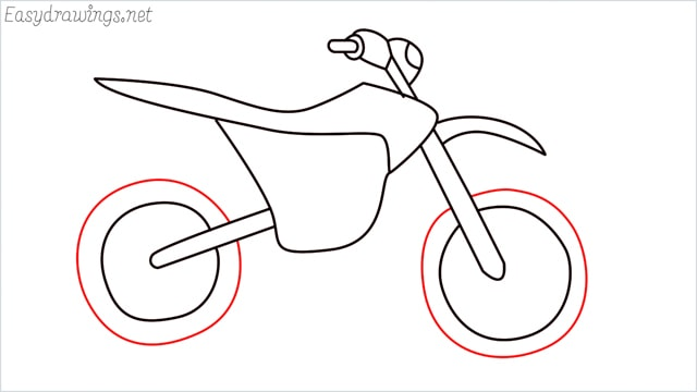 how to draw a dirt bike step (12)