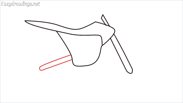how to draw a dirt bike step (5)
