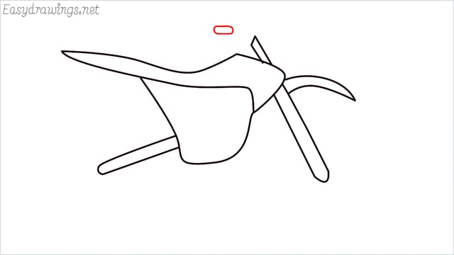 how to draw a dirt bike step (7)