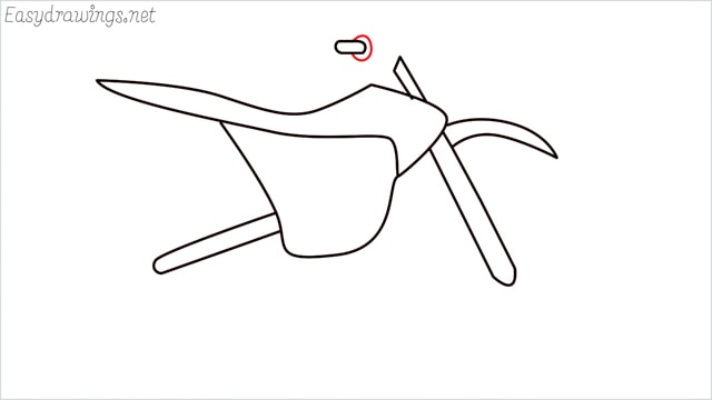 how to draw a dirt bike step (8)