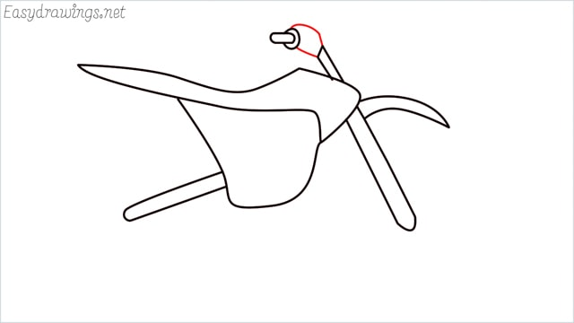 how to draw a dirt bike step (9)