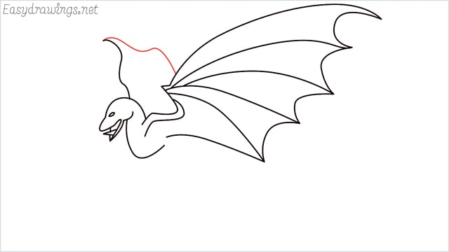 how to draw a dragon step (10)