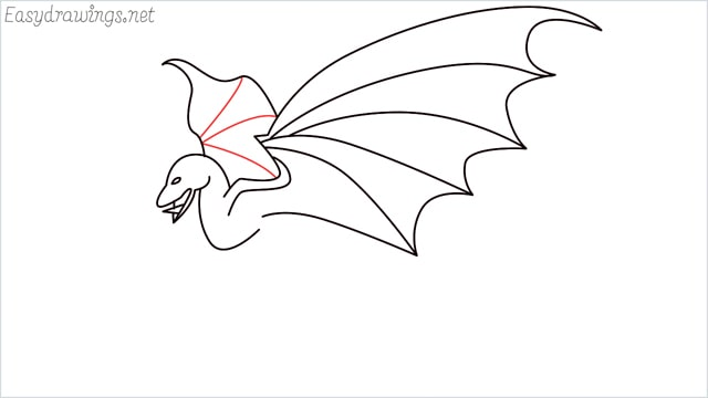 how to draw a dragon step (11)