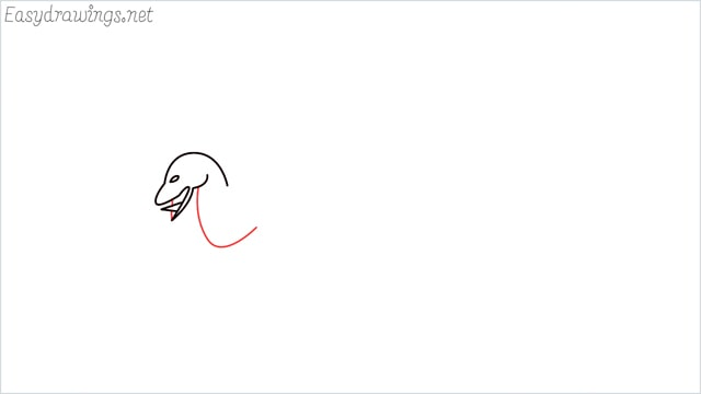 how to draw a dragon step (4)