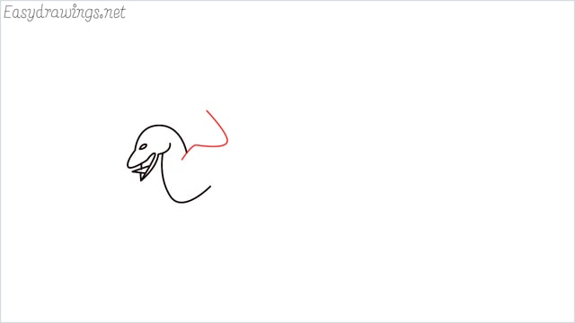 how to draw a dragon step (5)
