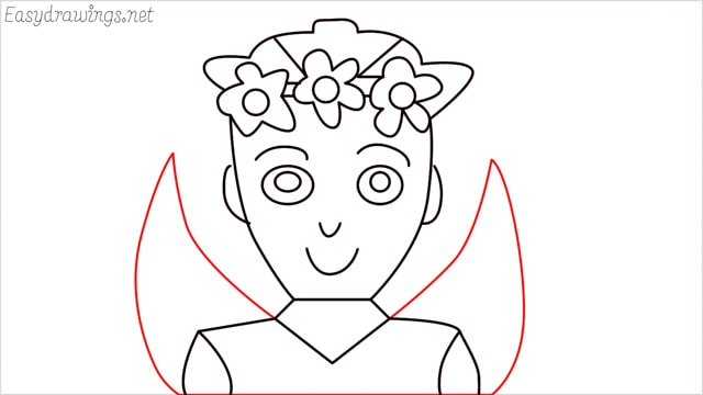 how to draw a fairy step (13)