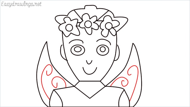 how to draw a fairy step (14)