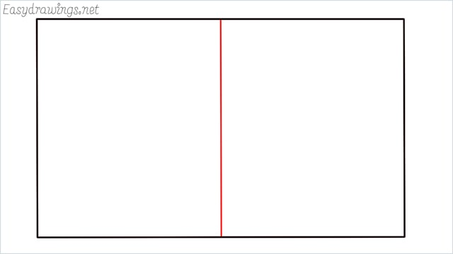 how to draw a football court step (2)