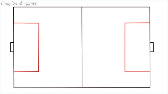 how to draw a football court step (4)