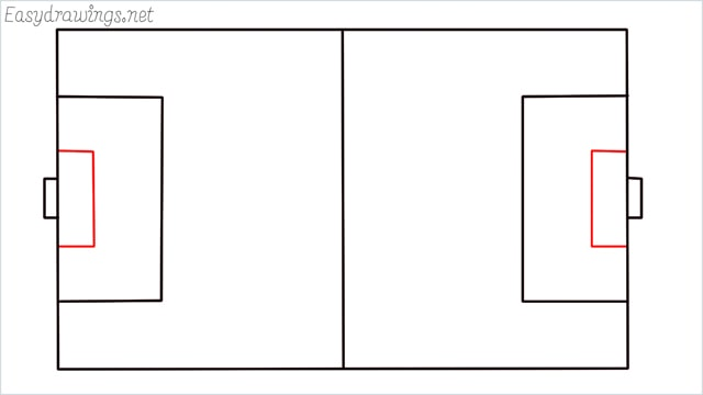 how to draw a football court step (5)