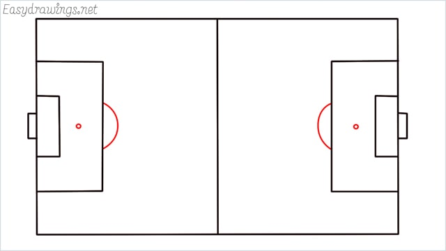 how to draw a football court step (6)