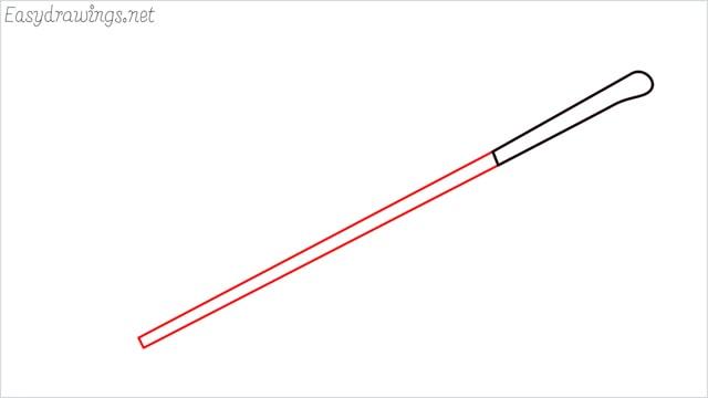 how to draw a golf stick step (2)