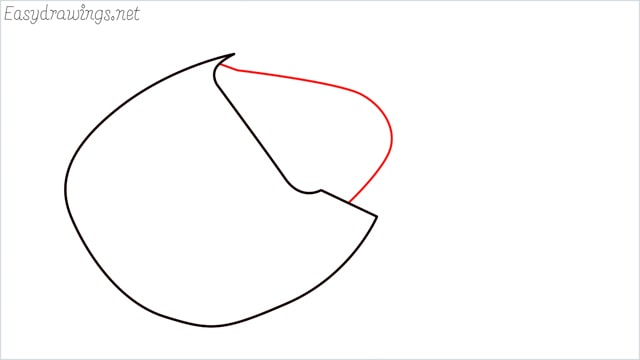 how to draw a horseshoe crab step (3)