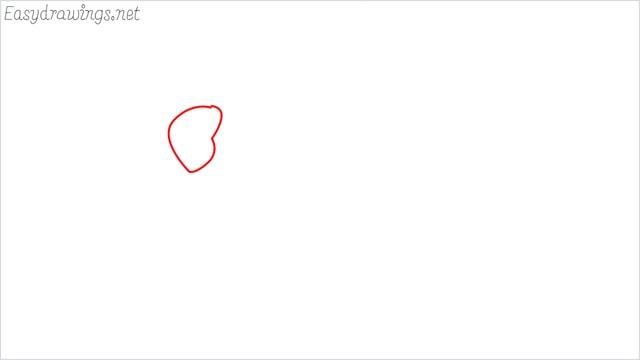 how to draw a ladybug step (1)