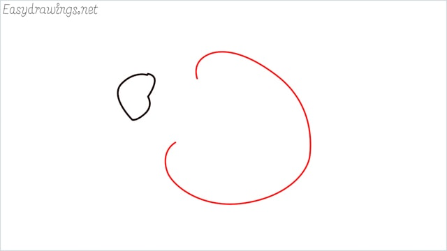 how to draw a ladybug step (2)