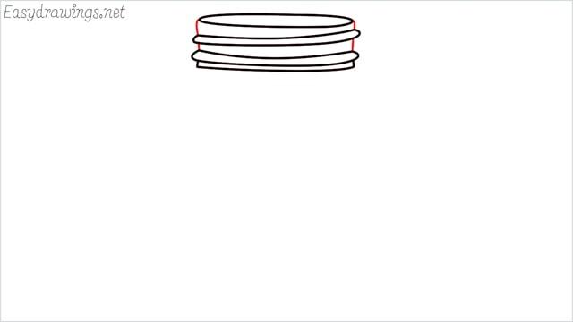 how to draw a mason jar step (5)