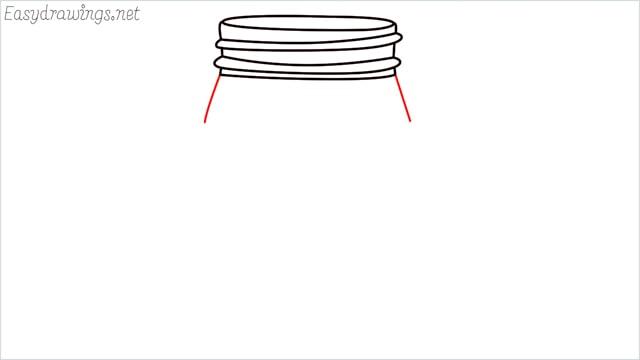 how to draw a mason jar step (6)