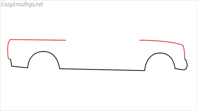 how to draw a pickup truck step (3)