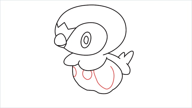 how to draw a piplup step (10)