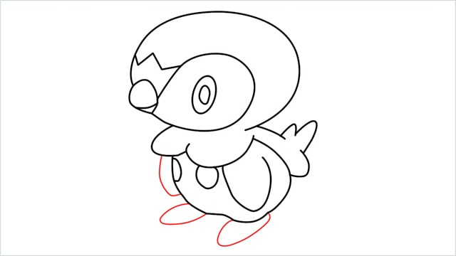 how to draw a piplup step (11)