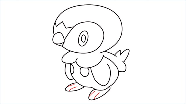 how to draw a piplup step (12)