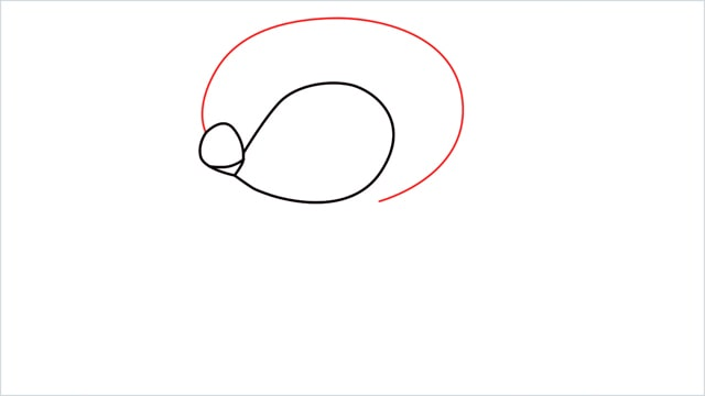 how to draw a piplup step (4)