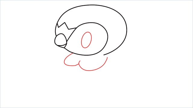 how to draw a piplup step (6)