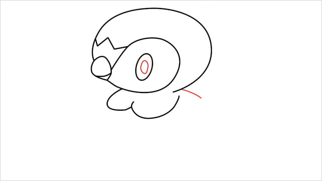 how to draw a piplup step (7)