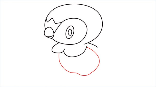how to draw a piplup step (8)
