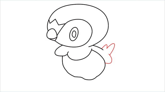 how to draw a piplup step (9)