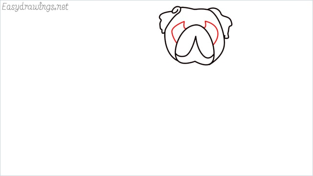 how to draw a pug step (5)