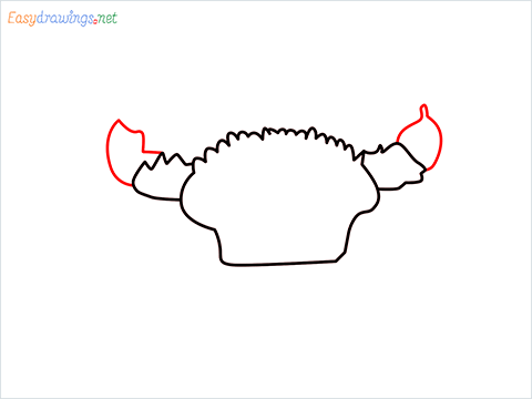 how to draw a realistic crab step (5)