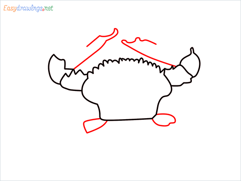 how to draw a realistic crab step (6)