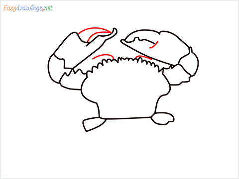 how to draw a realistic crab step (8)