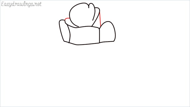 how to draw a rose step (4)