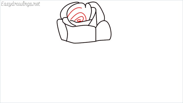 how to draw a rose step (6)